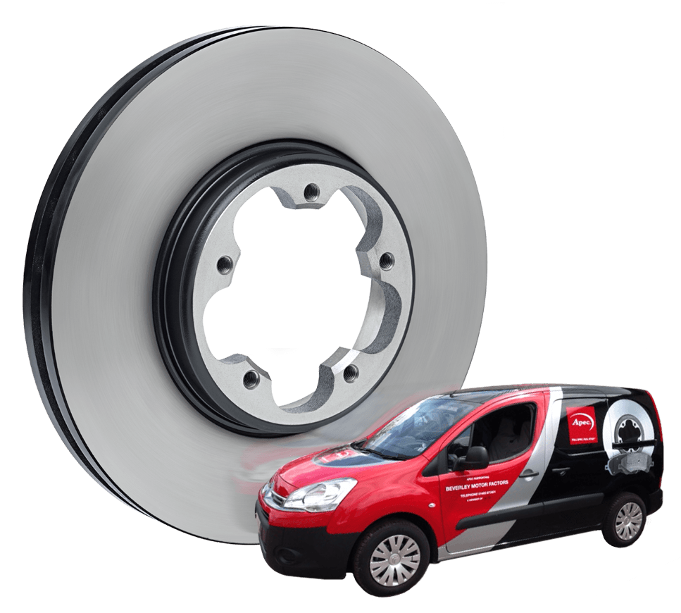 Apec van and brake disc